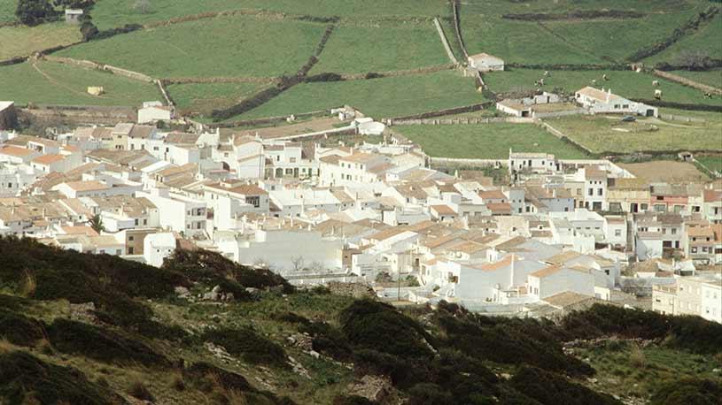 Ferreries Vista pueblo