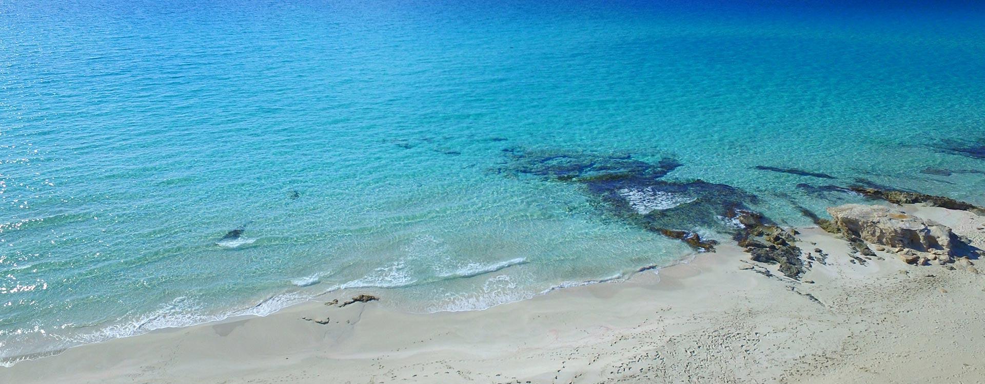 Vista aérea de la Playa de Migjorn