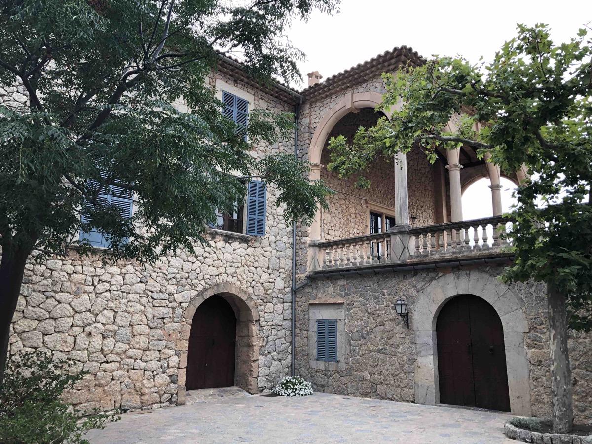 Facahada exterior Casa Museo Son Marroig