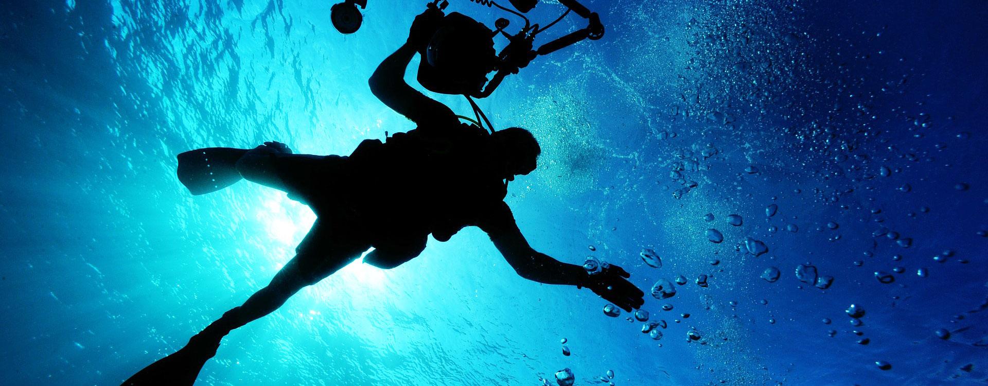 Inmersión en el faro de Santa Eulària